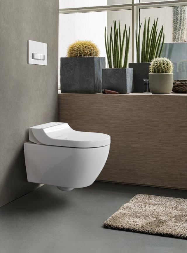 Eleganti vasi e bidet in stile minimal i sanitari salvaspazio for Geberit aquaclean prezzo