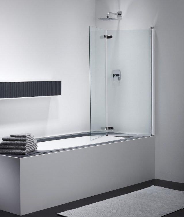 Pareti in pvc pannelli di parete del bagno di bianco del - Piane del bagno ...