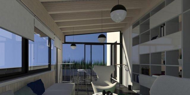 Chiudere il balcone per fare la veranda - Cose di Casa