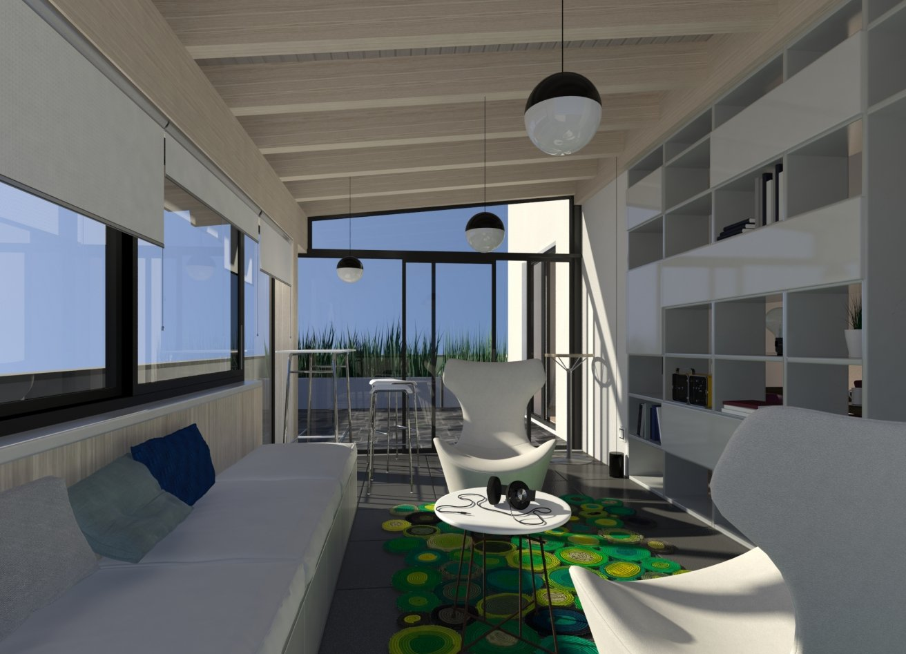 Chiudere il balcone per fare la veranda cose di casa for Verande arredate