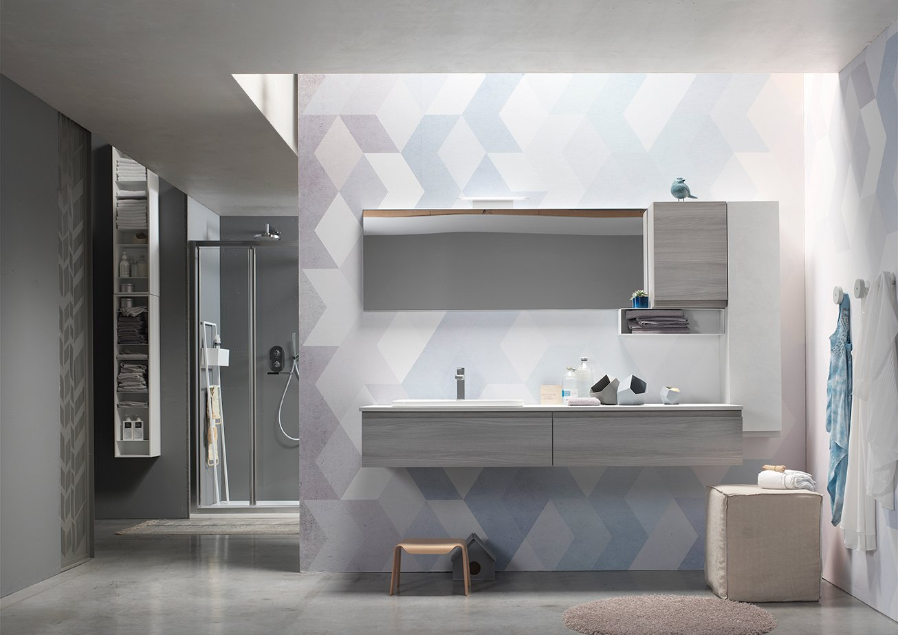 Nuove finiture per la linea ak di arcombagno cose di casa for Arcom bagno