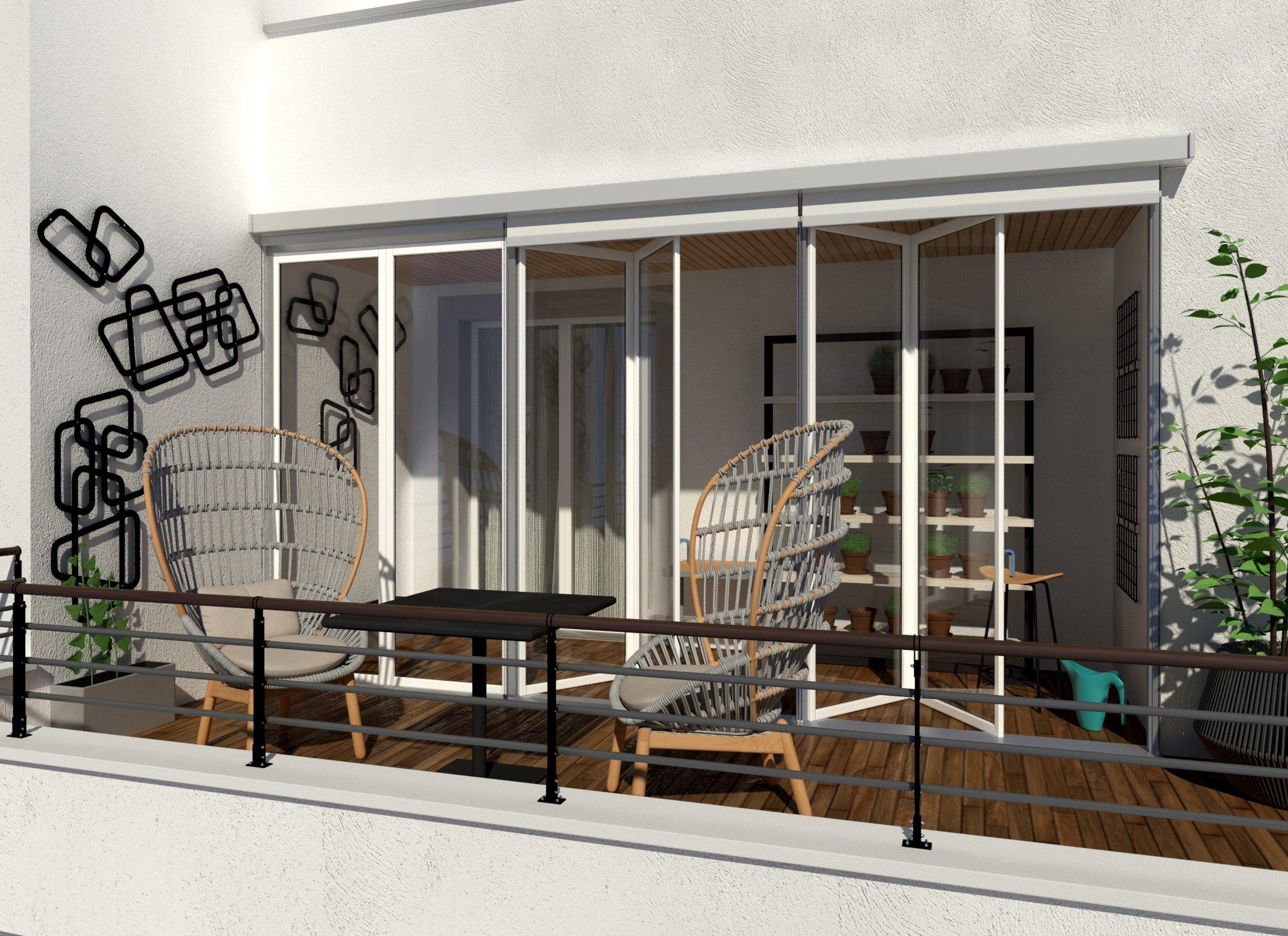 Coprire Terrazzo Con Veranda fare la veranda per la serra solare - cose di casa