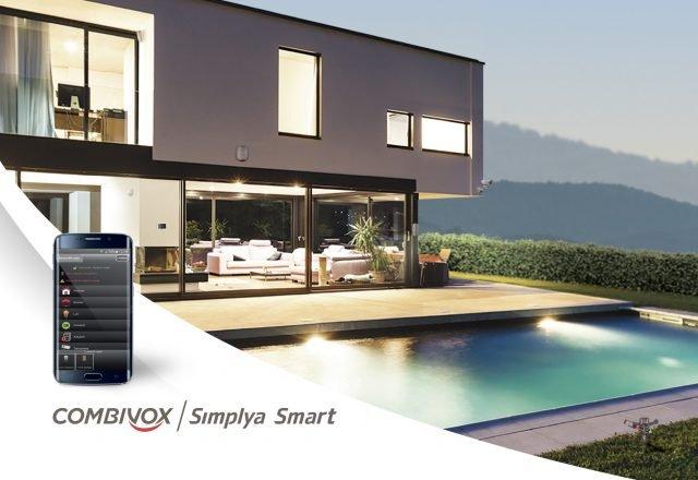 APP Simplya Smart per la gestione dell'impianto da Smartphone – Esclusiva funzione di Video Verifica