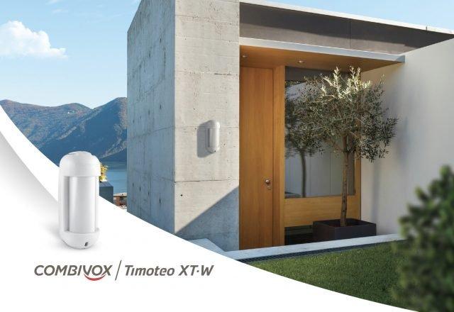 Rivelatore per la protezione perimetrale esterna di giardini, terrazze e balconi