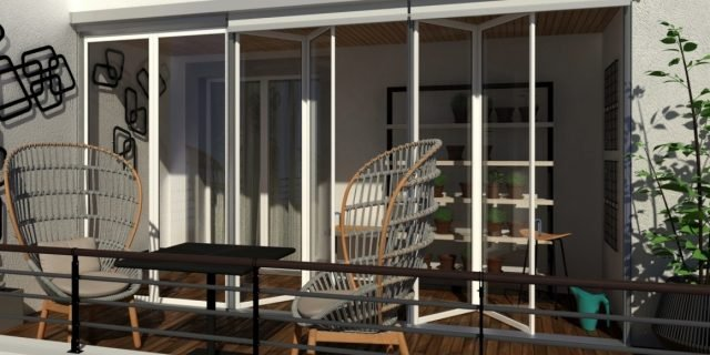 Fare la veranda per la serra solare