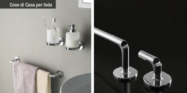 Novità: accessori bagno Inda. Quando i dettagli fanno la perfezione