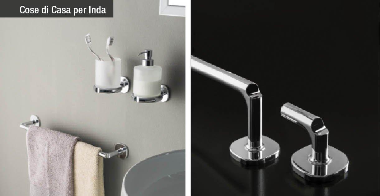 Novità: accessori bagno Inda. Quando i dettagli fanno la perfezione - Cose di Casa