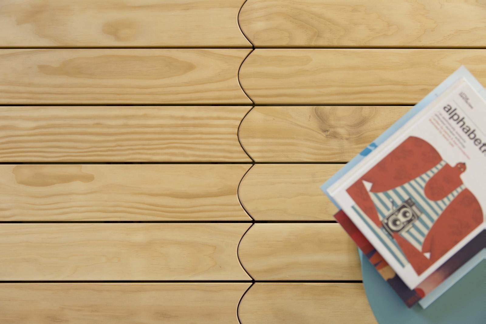 Parquet outdoor gusto decorativo e alta resistenza per la for Listone sottotetto