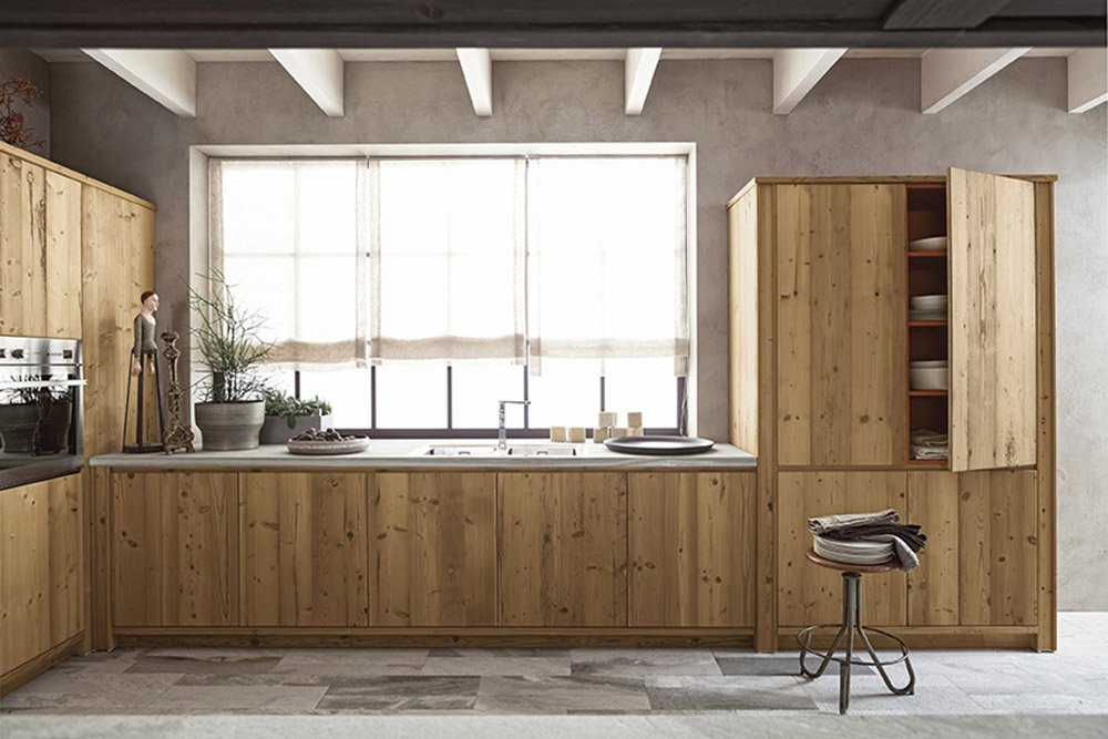 La cucina sotto la finestra composizioni cui ispirarsi cose