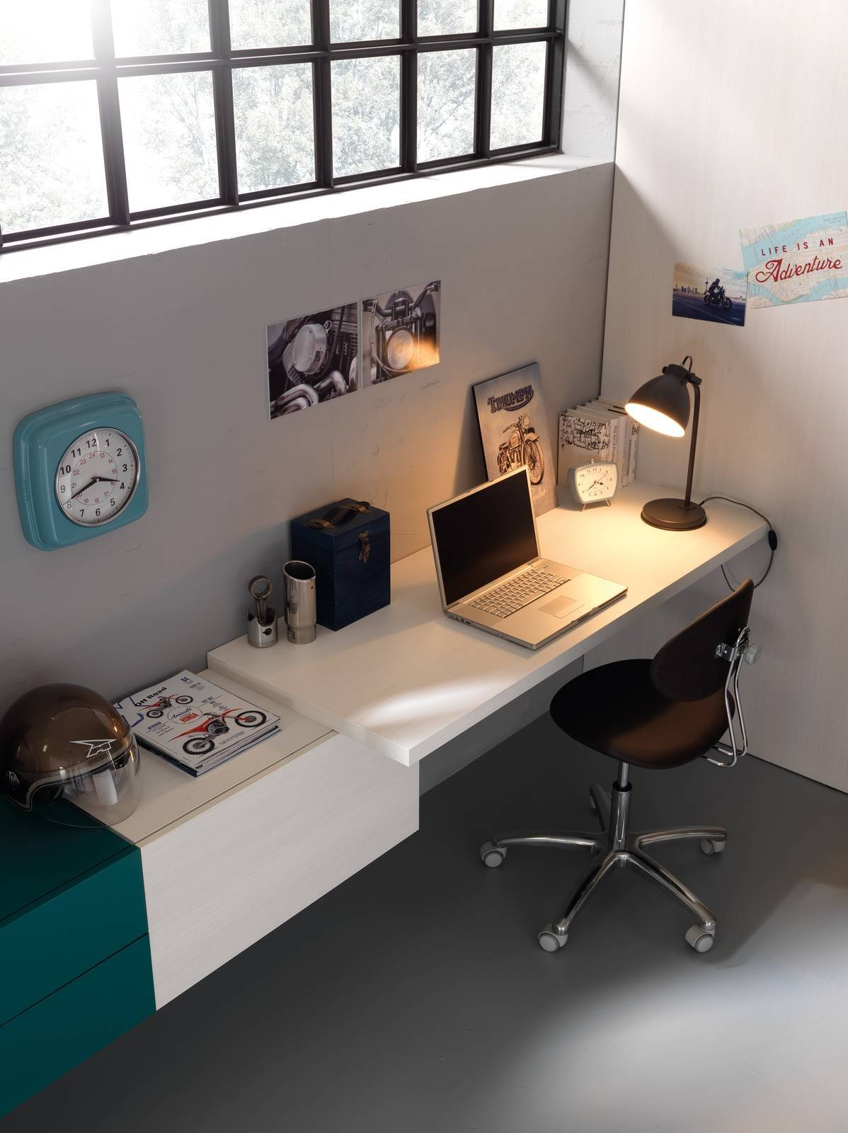 Quale scrivania scegliere? 5 soluzioni diverse per la zona studio ...