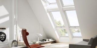 sottotetto con finestra tetti Velux antieffrazione GGU. Classe di resistenza: 2. (www.velux.it)