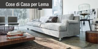 Divani: design & comfort secondo Lema