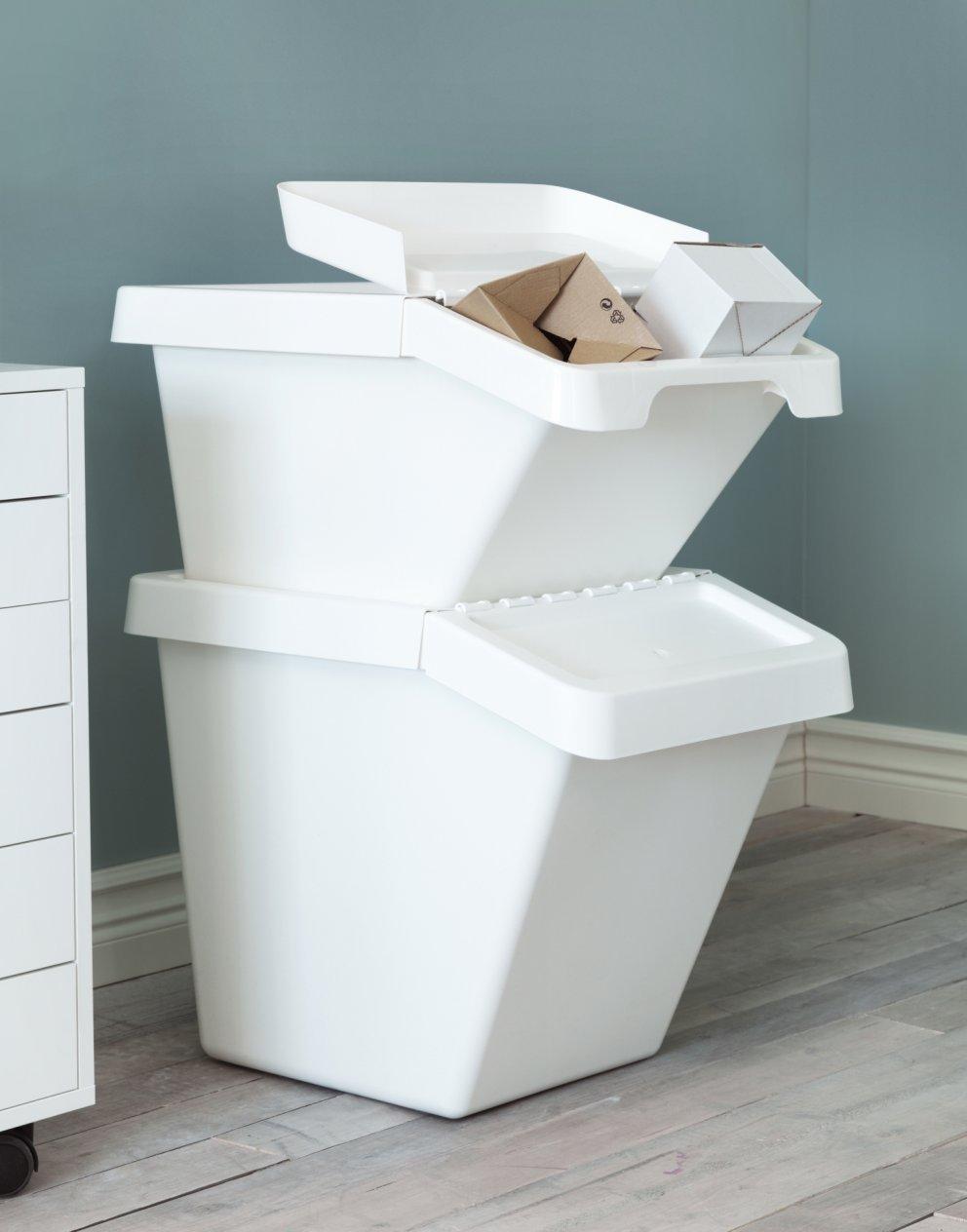 Pattumiere tradizionali o per il riciclo nuove amiche per for Ikea bidoni differenziata