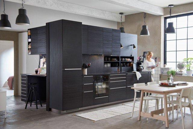 Bancone In Legno Ikea : Legno o effetto legno in cucina: si usa chiaro o scuro? 10 modelli