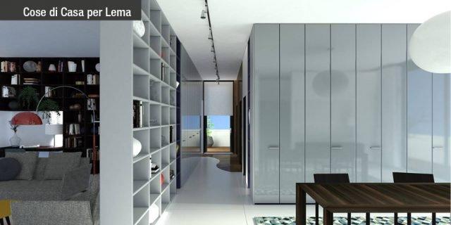 Progetti in 3D: contenere al massimo con i sistemi per la zona giorno e la zona notte