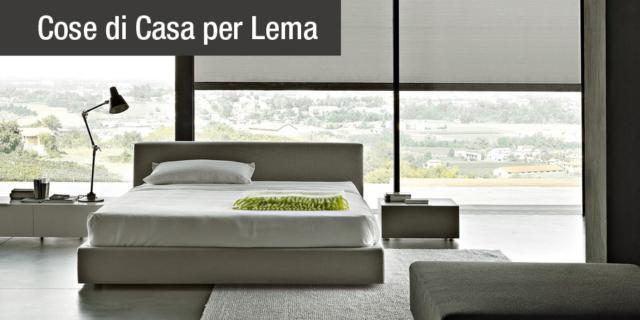 Letti imbottiti Lema: eleganza evergreen