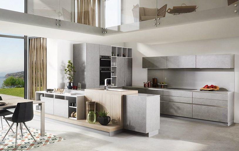 14 soluzioni coordinate di cucina soggiorno colore torino - Schmidt cucine torino ...