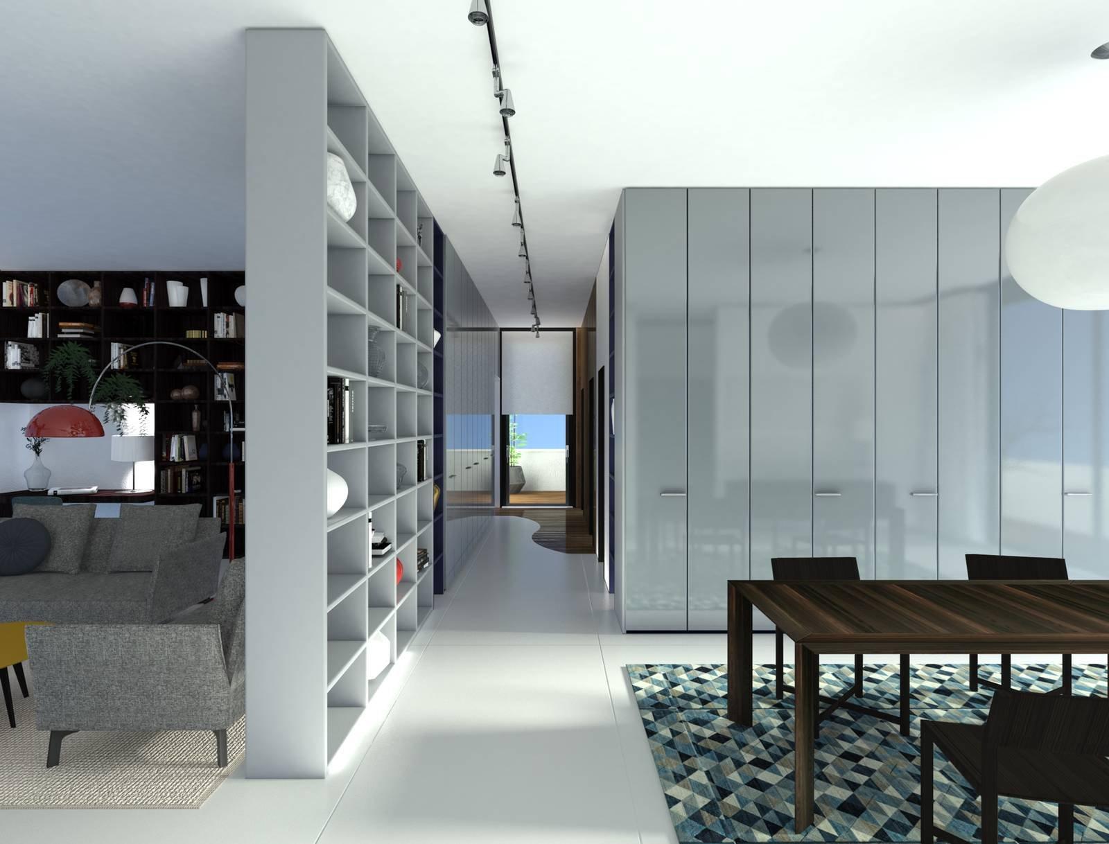 Progetti in 3d contenere al massimo con i sistemi per la for Sedie che si appendono al soffitto