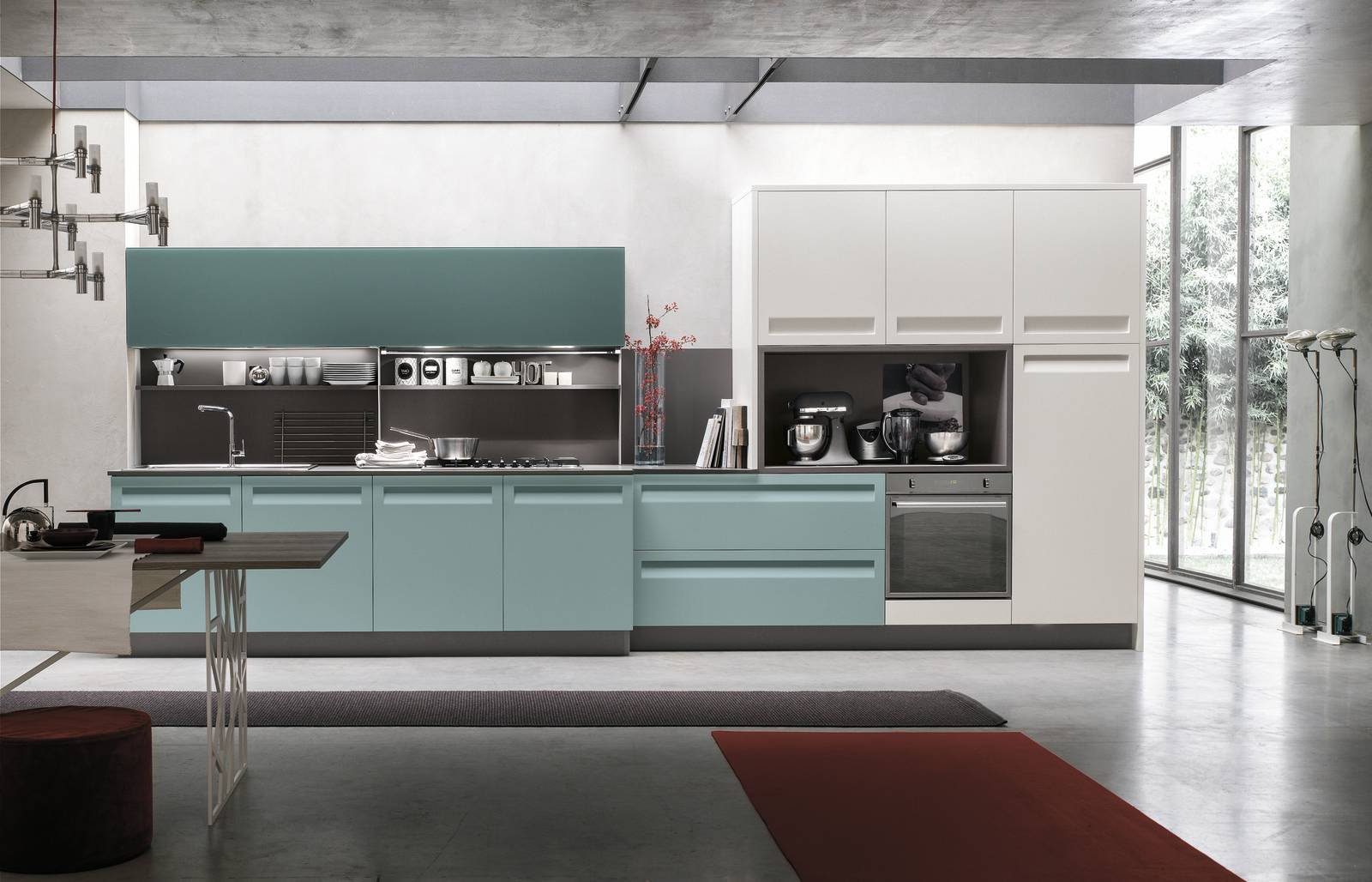 Cucina colorata 10 modelli supervivaci e moderni o sobri e tradizionali cose di casa - Cucine moderne colorate ...