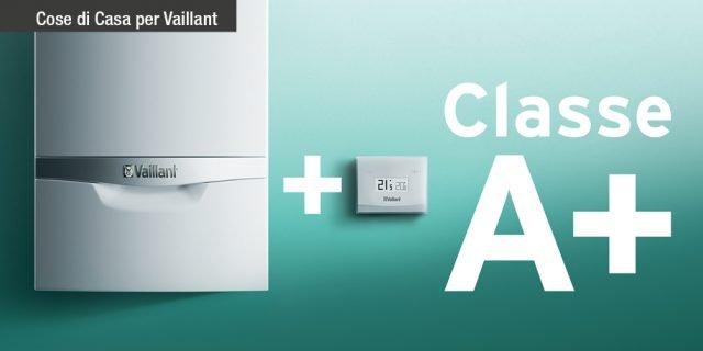 Vaillant in Classe A+: connettività e maggiore efficienza per le nuove caldaie a condensazione