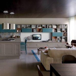 14 soluzioni coordinate di cucina soggiorno - cose di casa - Ambiente Unico Cucina Soggiorno Casa