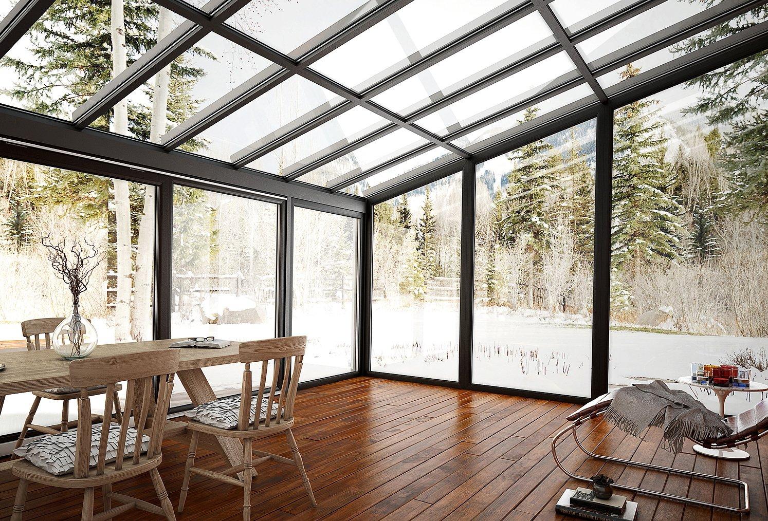 vetrate e finestre per la veranda sistemi componibili ForDisegni Veranda Anteriore