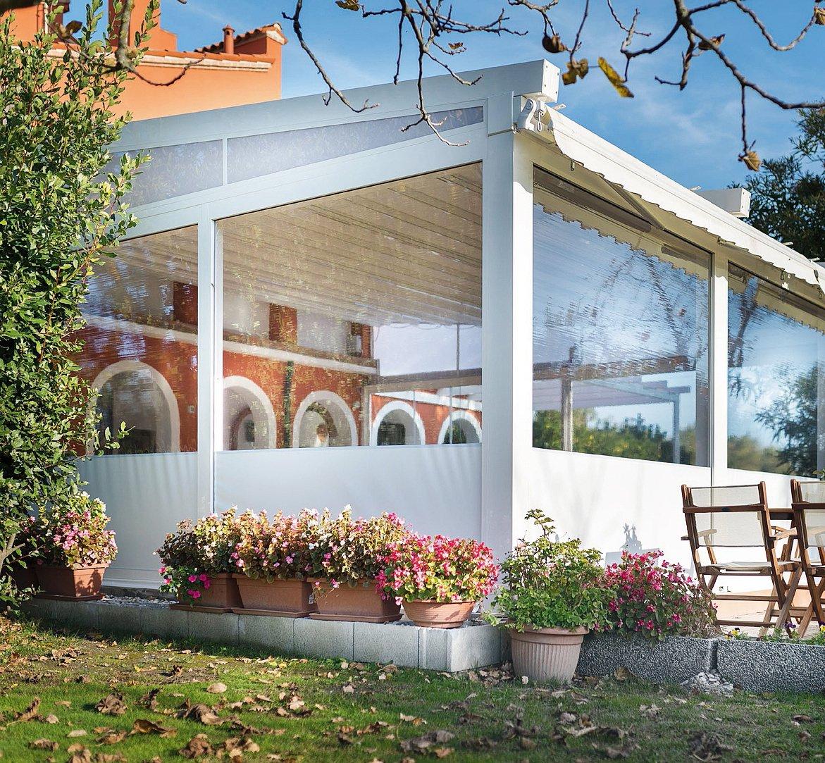 Vetrate e finestre per la veranda sistemi componibili - Sistemi per riscaldare casa ...
