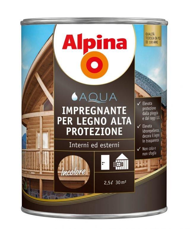ALPINA IMPREGNANTE FINITURA ACQUA ALTA PROTEZIONE