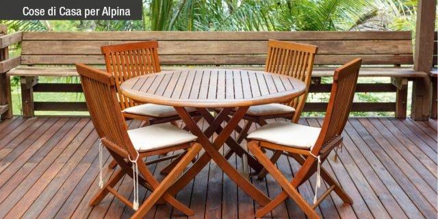 Proteggere il legno e decorarlo con i prodotti Alpina