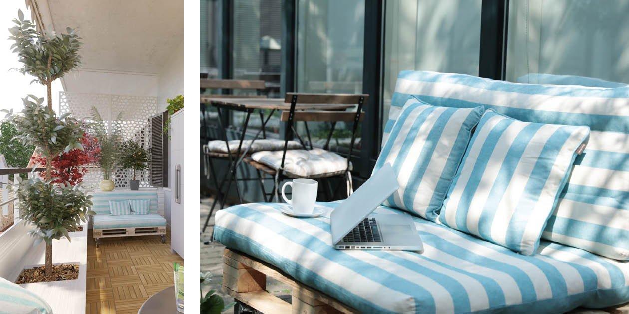 Come costruire un divano con i pallet cose di casa - Foderare un divano da soli ...