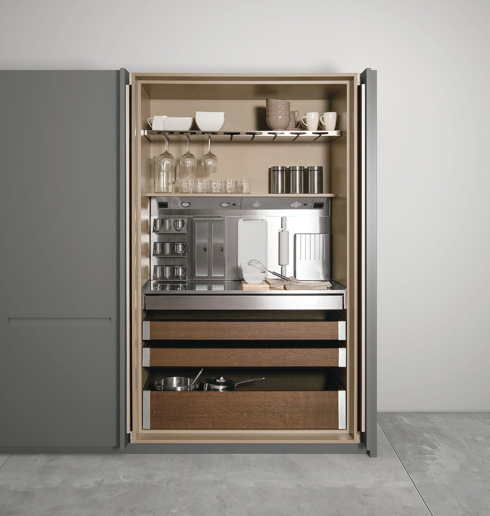 Mini cucina jolly salvaspazio dalle funzioni dichiarate o insospettabili - Cucine compatte prezzi ...
