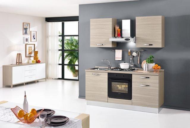 Mini cucina jolly salvaspazio dalle funzioni dichiarate o insospettabili cose di casa - Cucina compatta ...