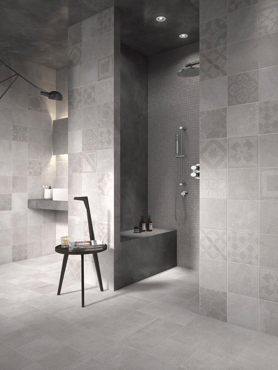 Piastrelle per il bagno dallo stile contemporaneo al - Cementine bagno ...