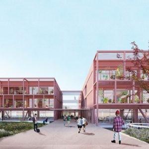 Il progetto di Alberto Bottero per la scuola Enrico Fermi offre un esempio di ripensamento completo della scuola esistente, lavorando in modo integrato sul piano architettonico e didattico. I temi progettuali affrontati a tutti i livelli sono: relazione interno/esterno, arredo come elemento trasformativo, presenza costante dell'elemento verde che assume valore pedagogico.