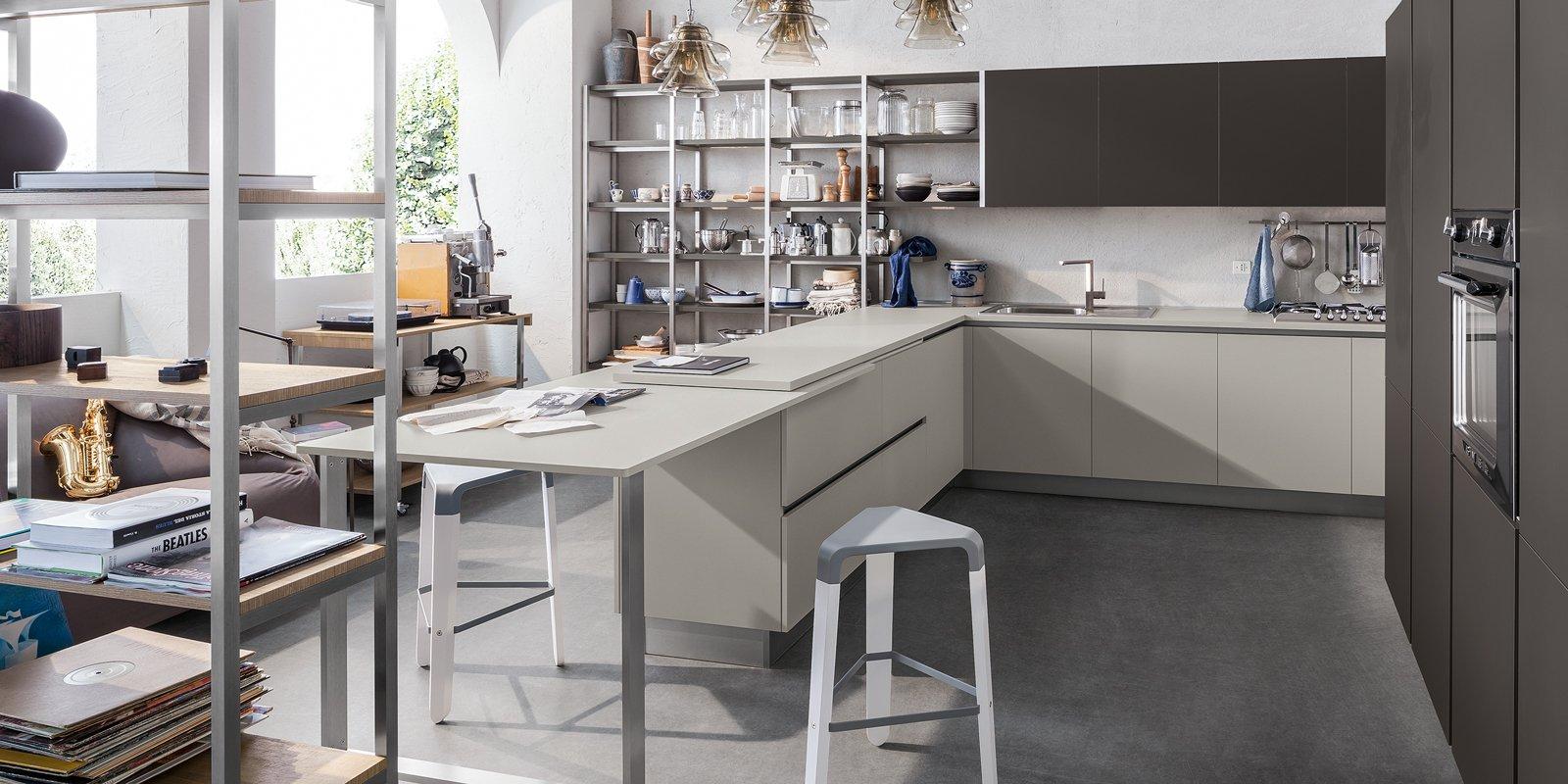 Il modello pi venduto di cucina ecco la risposta dei for Ambientazioni case moderne