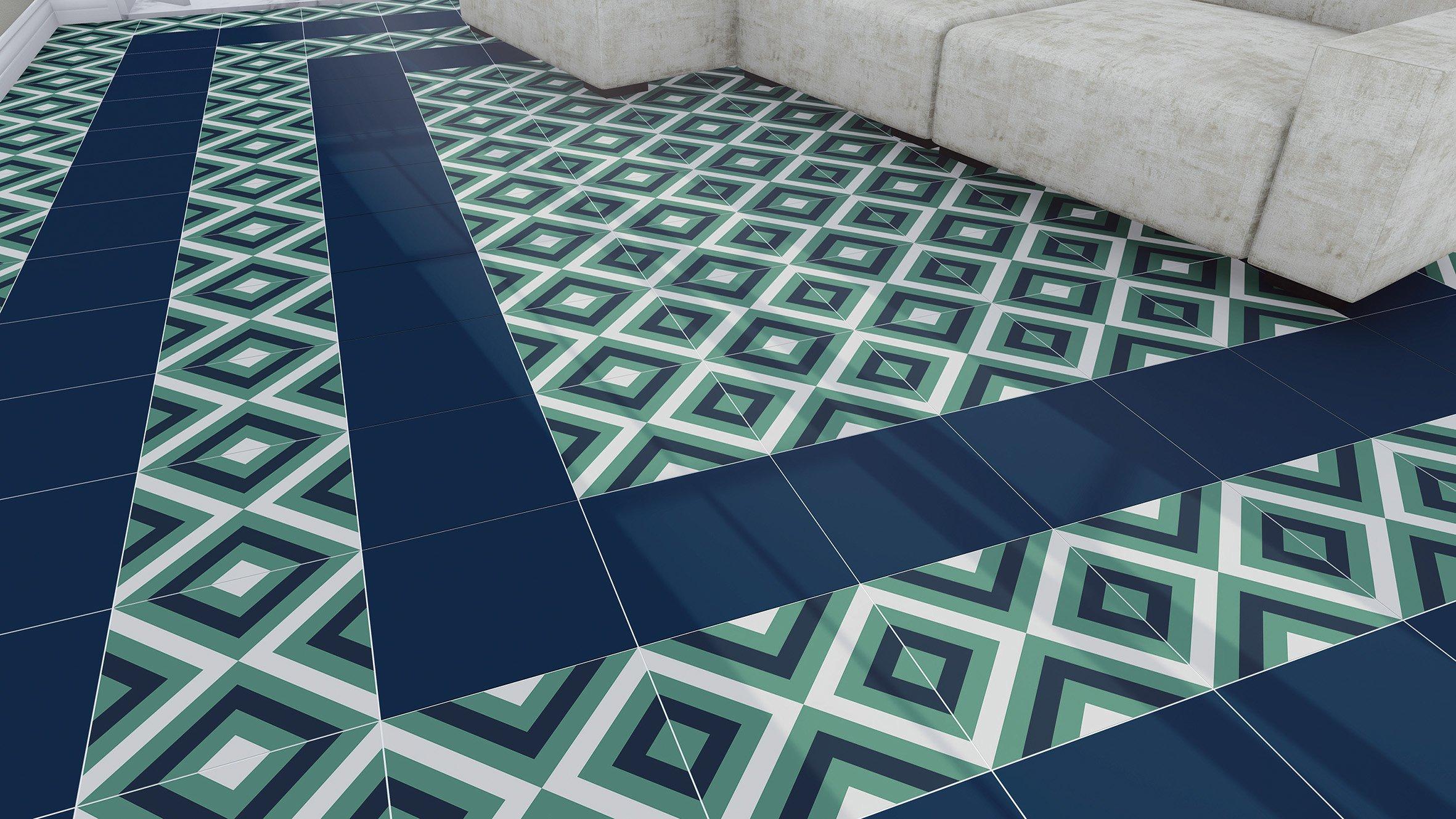 Adesivi per piastrelle per rinnovare il look di pareti e pavimenti