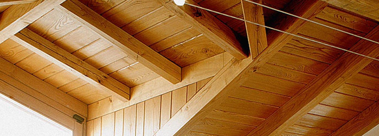 Tetto ventilato isolato per il giusto microclima indoor - Illuminazione sottotetto legno ...