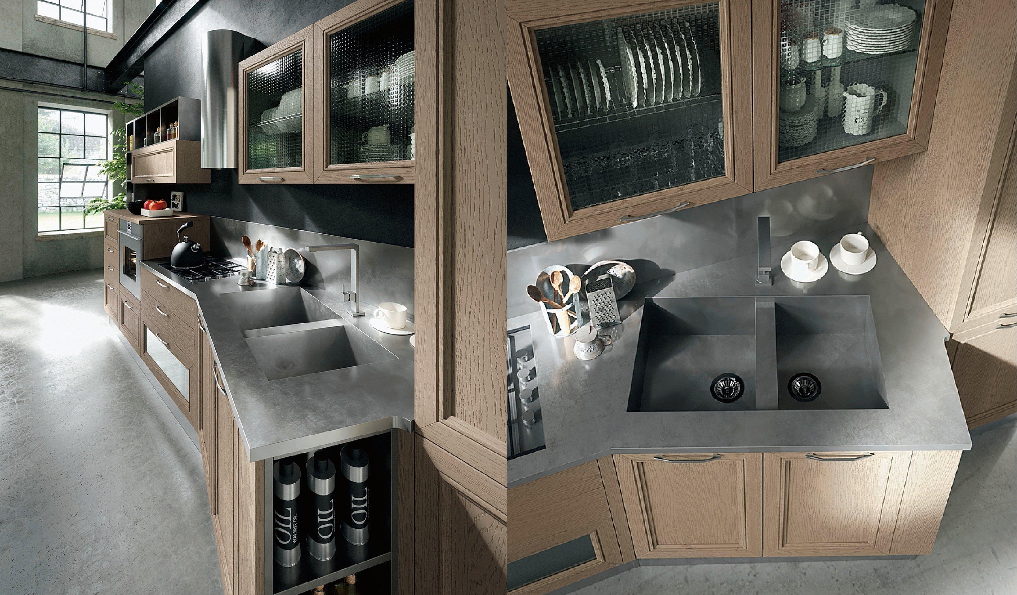 Top della cucina quale materiale scegliere per il piano - Laminato in cucina ...