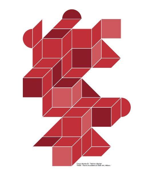 L'immagine di Cersaie 2017 è stata elaborata da due studenti della Nuova Accademia di Belle Arti di Milano, Fabrizio Mariani ed Enrico Montecchi, dal titolo Il Futuro è Polimorfo.