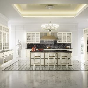 Cucina classica in bianco tre modi di essere total white for 1 piani di lusso di una storia