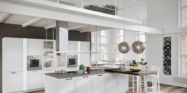 Cucina classica in bianco: tre modi di essere total white
