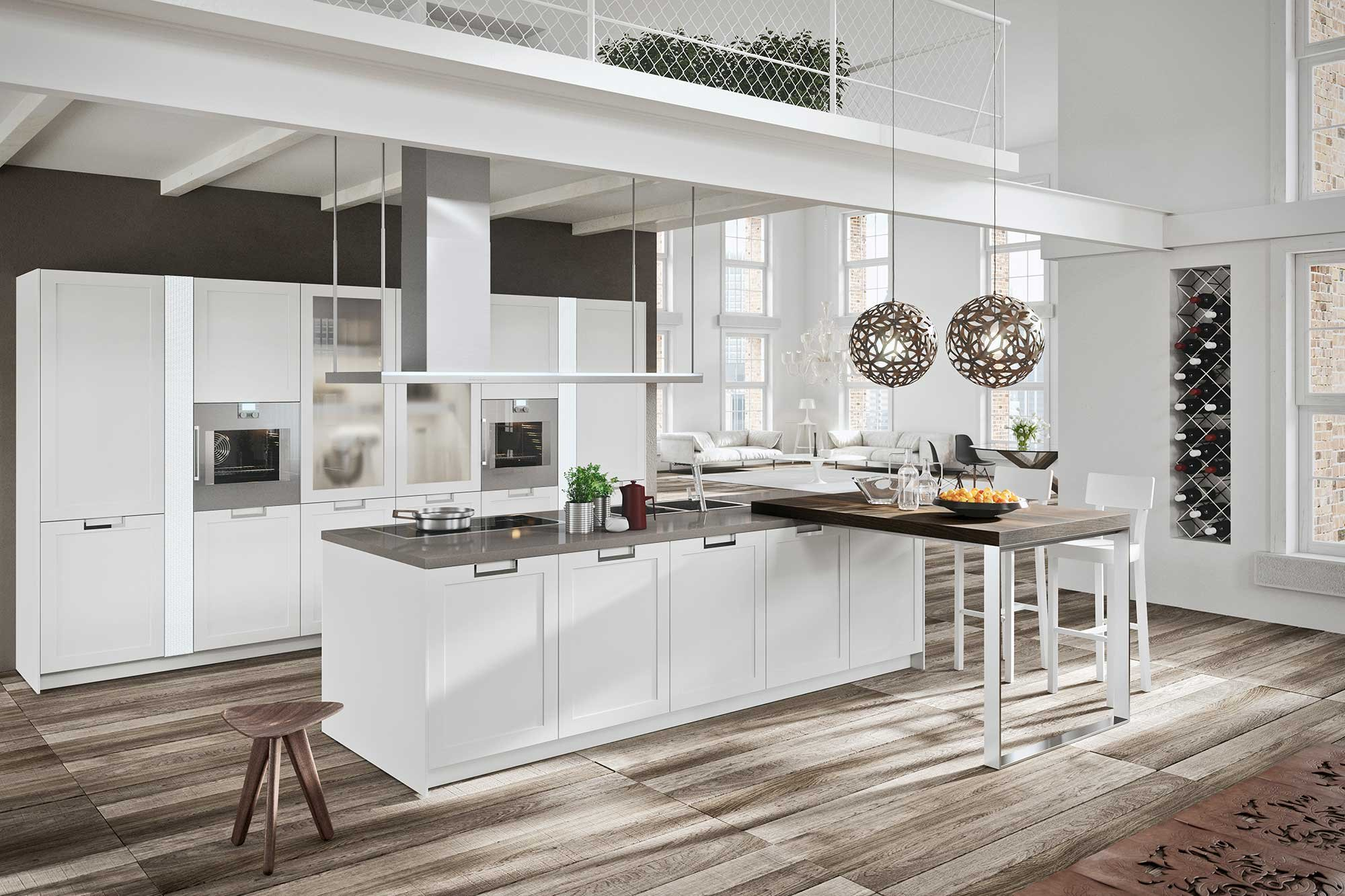 Cucina classica in bianco tre modi di essere total white cose di casa - Cucina laccato bianco ...