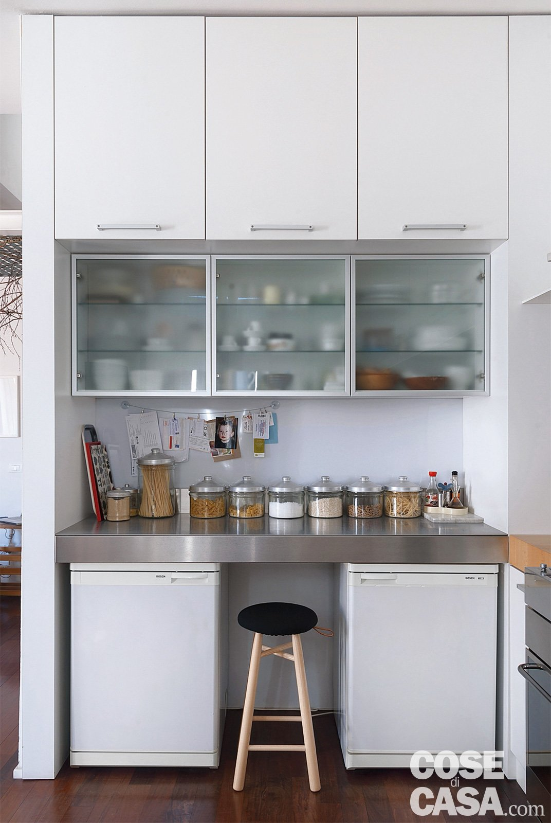Cucina frigorifero cose di casa - Cucina con soppalco ...