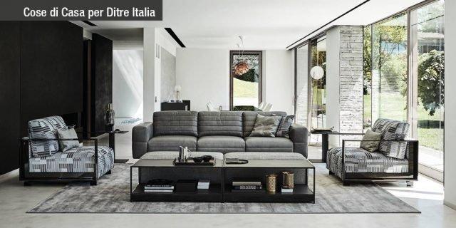 Ditre Italia arreda il living esprimendo un concetto globale e coordinato
