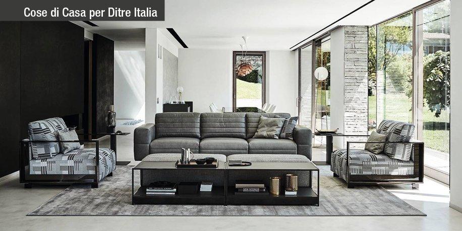ditre italia arreda il living esprimendo un concetto