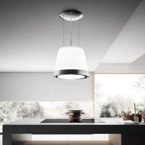 Summilux è la cappa lampadario di Elica in acciaio lucido a specchio e vetro satinato con strip LED che consentono di modulare l'intensità della luce. Regolabile tramite telecomando e con filtri odori, è dotata di sensori in grado di rilevare il tipo di cottura e la quantità di vapori emessi, calibrando così in modo ottimale il livello di aspirazione necessario. In classe A, il diametro è di 50 cm e la portata massima di 400 mc/h. Prezzo a partire da 2.300 euro. www.elica.it