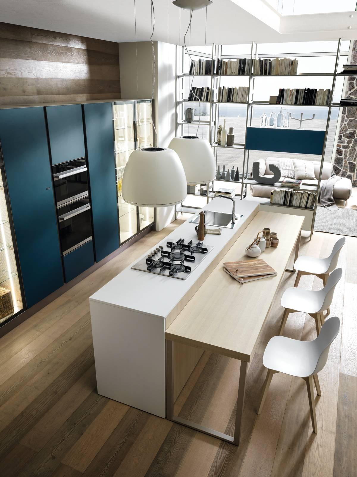 cucine con l 39 isola 12 modelli per un living votato alla