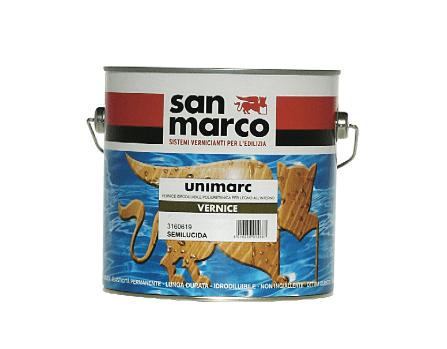 Unimarc Vernice Per Parquet, idrodiluibile, si usa per la verniciatura di pavimenti e manufatti in legno all'interno. Essicca velocemente riducendo i tempi di verniciatura del supporto. Può essere applicato su idropitture lavabili, purché ben aderenti, per migliorare le prestazioni del film. Da 2,5 litri prezzo 62 euro.