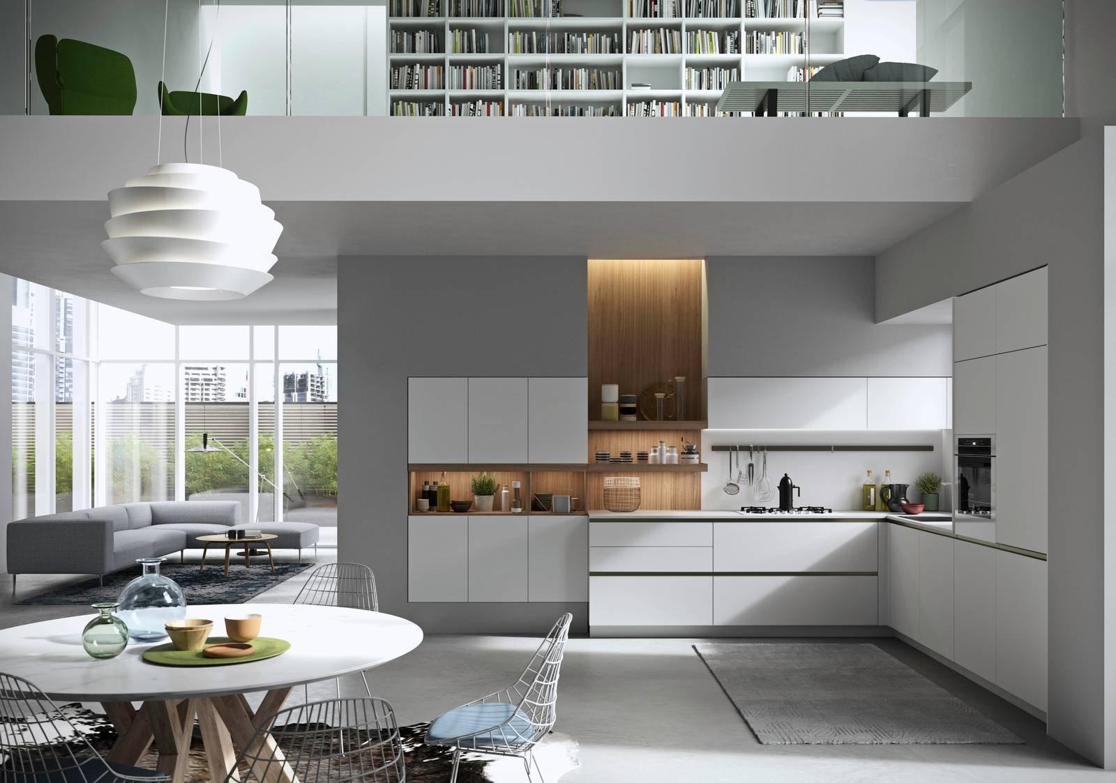 Cucina: vani a giorno per dare movimento alla composizione - Cose di ...