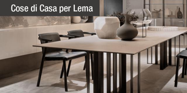 Tavoli e sedie per ambienti eleganti dal carattere contemporaneo